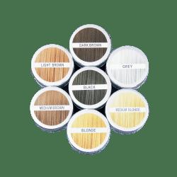 Streuhaar in verschiedenen Farben